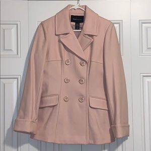 Blush Pea Coat NWOT